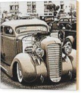 Custom 36 Dodge Wood Print