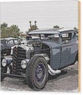 Custom Model A Coupe Wood Print