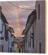 Cuzco Wood Print