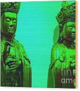 Cy-buddhas Wood Print
