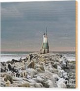 Cyc Lighthouse Wood Print