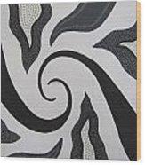 Cyclone Wood Print
