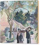 Cyprian Monastery Wood Print