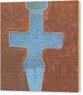 Cyprus Idol Of Pomos Wood Print by Augusta Stylianou