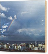 Cyprus Rainbow Wood Print