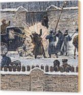 Czars Assassination, 1881 Wood Print