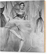Daddy Long Legs, Leslie Caron, 1955 Wood Print by Everett