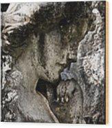 Daguerrotype Angel Wood Print