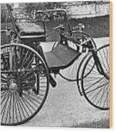 Daimler Automobile, 1889 Wood Print