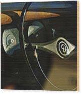 Daimler Steering Wheel Wood Print