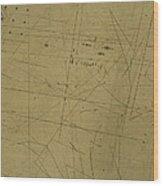 Damaged Surface Viii Wood Print
