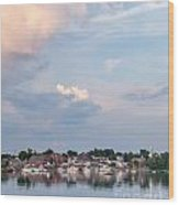 Damariscotta Sky Wood Print