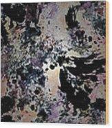 Damask Tapestry Wood Print