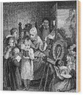 Dames School, 1812 Wood Print by Granger