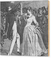Dance, 19th Century Wood Print by Granger