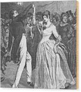 Dance, 19th Century Wood Print