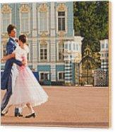Dance At Saint Catherine Palace Wood Print
