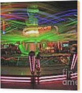 Dancing Lights 1 Wood Print