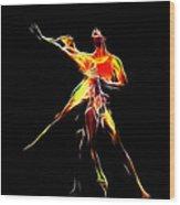 Dancing Lovers Wood Print by Steve K