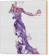 Dancing With A Stranger Wood Print