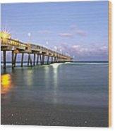 Dania Beach Pier Wood Print