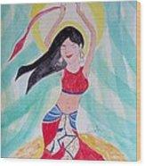 Danse Du Ventre Wood Print