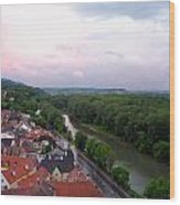 Danube Dream Wood Print