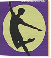 Classical Dancer Wood Print
