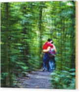 Dappled Days Of Summer Wood Print