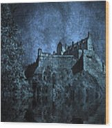Dark Castle Wood Print