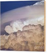 Dark Clouds - 2 Wood Print by Graham Taylor