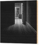 Dark Passage Wood Print