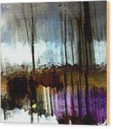 Dark Waters Wood Print
