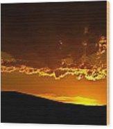 Darkness Falls Wood Print