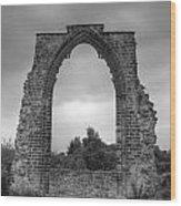 darley Abbey arch Wood Print