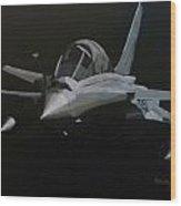 Dassault Rafale Wood Print