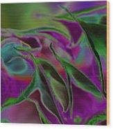 Datura Dreams Wood Print