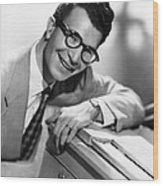 Dave Brubeck, 1950s Wood Print by Everett