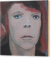 David Bowie The Early Years Wood Print
