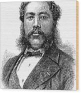 David Kalakaua (1836-1891) Wood Print by Granger