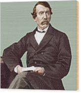 David Livingstone, Scottish Missionary Wood Print