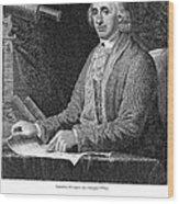 David Rittenhouse Wood Print