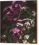 Davinci Orchid Wall Wood Print