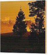 Dawn 1 Wood Print