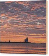 Dawn Highlights Wood Print
