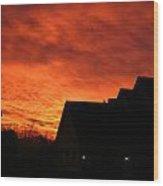 Dawn In Ashburn Wood Print