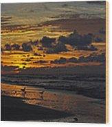 Dawn Of A New Year Wood Print