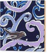 Dawn Wood Print by Patricia Lazar