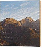 Dawn Vaishno Devi Himalayas Wood Print