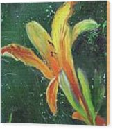 Day Lily Number Two Wood Print